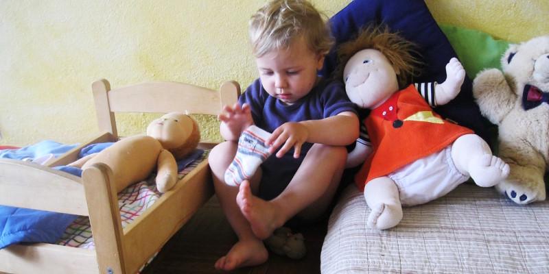Wir nehmen die Bedürfnisse der Kinder ernst und möchten, dass die Kinder ihre eigenen Erfahrungen machen können...