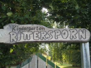 Kindergarten Rittersporn